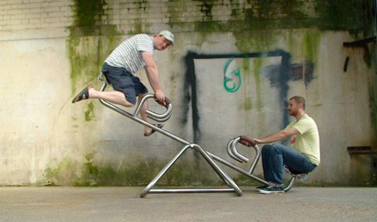 seesaw for hipsters